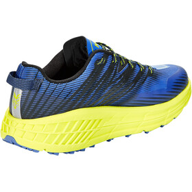 Hoka One One Speedgoat 4 Wide Shoes Men black iris/evening primrose